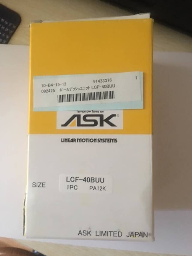 ASK LCF25BLUU轴承
